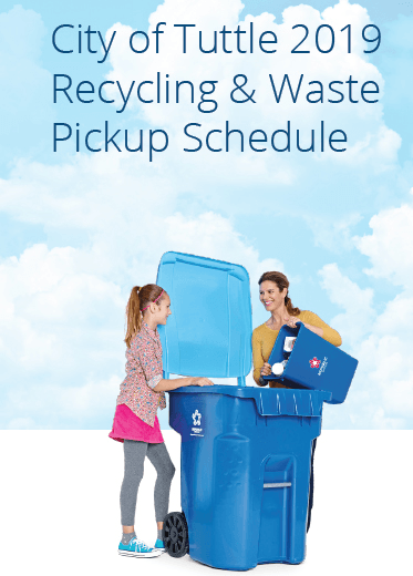 Trash & Recycling Schedule 2019