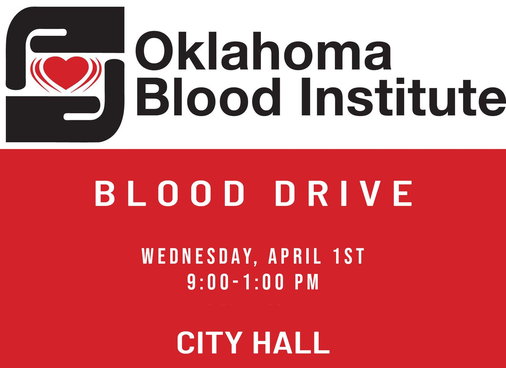 Blood Drive Oct. 18